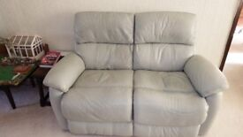 SOFA LEATHER 2 SEATER DFS NAVONA