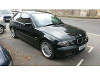 BMW 325 Ti COMPACT. MET BLACK, £1500 ono.