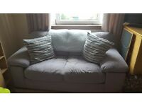 2 seater grey fabric sofa bed for sale