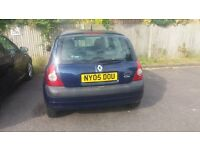 Renault Clio 1.4, 2005, Automatic, 1 years Mot, 80k Miles, 2 owners, Service History, £655