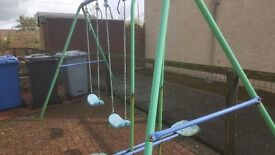Swing and seesaw set