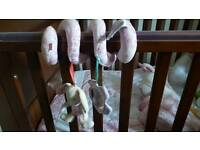 Mothercare in the garden carseat/cot/cotbed
