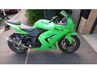 Kawasaki Ninja 250 (2009) 20,877 miles