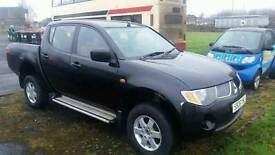 Mitsubishi l200 double cab pick up