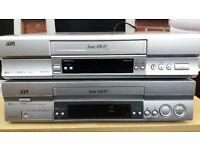 x2 compatible falty but fixable Super VHS recorders