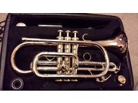 Intermediate cornet for sale, for sale due to my daughter giving up