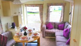 Quality Pre Owned Caravan At Sandylands On The West Coast Of Scotland With Fees Inc Till 2019