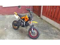 Motorbike 110cc 4 gears.off rd
