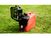 kipor campingmate generator + floodlight small suitcase size....camping/home/business uses