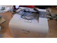 Samsung ML 3050 Laser Printer very light use full laser cartridge