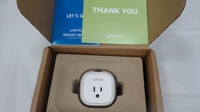 Smart Plug with Energy Monitoring, WiFi Enabled