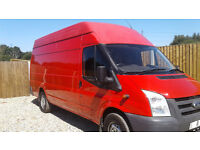 ford transit Panel Van X LWB 2011 (11 reg) Manual Diesel 140 psi no vat