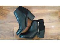 Ankle boots black size 39 Stradivarius