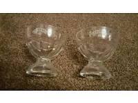 Baileys desert glasses