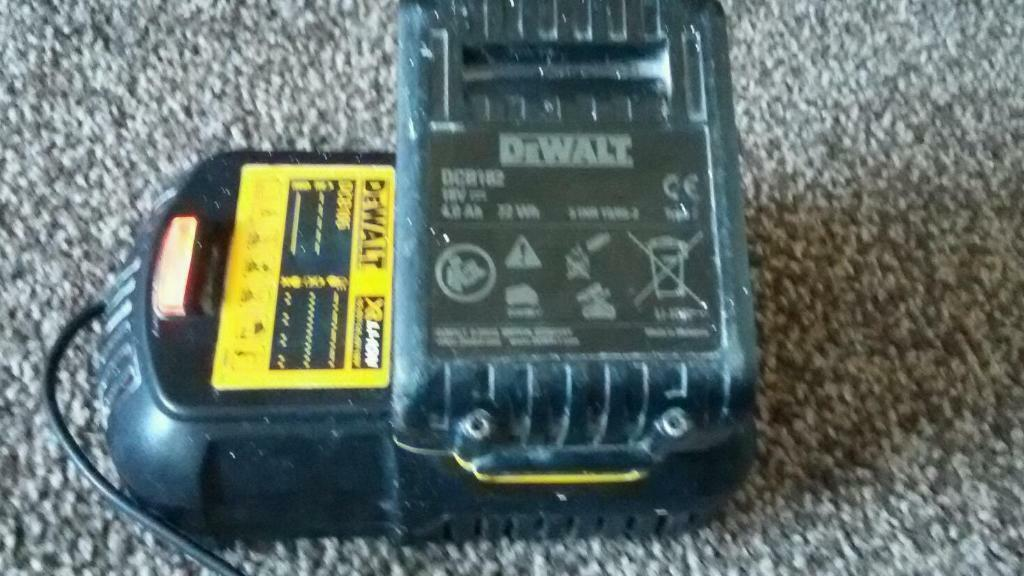 Dewalt 18v charger and 40ah battery in Benfleet Essex  : 86 from gumtree.com size 1024 x 576 jpeg 86kB