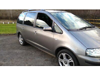 SEAT ALHAMBRA 1.9 TDI STYLANCE MODEL 130 BHP 6 SPEED MANUAL DIESEL