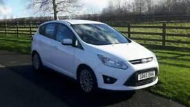 2011 ford c max 1.6 titanium tdci £30 road tax very clean n economical car 2 keys
