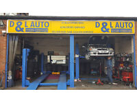D & L Auto Tyre Centre London – MOT Testing, Tyres, Servicing, Brakes, Clutch, Part Worn & New Tyres