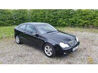 Mercedes Benz C180 Kompressor Sport * FSH * Low Mileage * Lady Owner