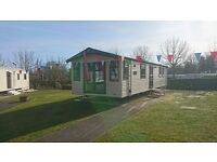 STATIC CARAVAN FOR SALE ON HAGGERSTON CASTLE
