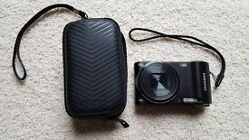 Samsung WB150F WiFi Enabled Digital Camera with 16GB SD Card, Mains USB Charger & Case