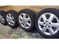 16 inch Vauxhall ASTRA VECTRA ZAFIRA ALLOYS 5 stud 5 × 110