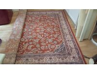 Pure wool large rug 2 x 3 m