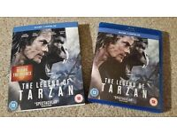 The Legend Of Tarzan Blu Ray