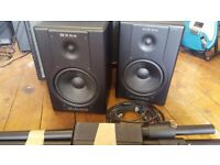 Used, Studio Monitor Speakers - Pair of Active Studio Monitors by M-Audio for sale  Exmouth, Devon