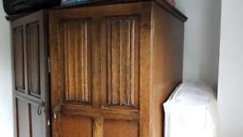 Crown AY Furniture Oak Wardrobe