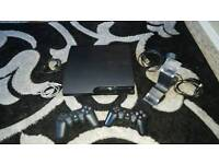 Ps3 Slim 320gb 2xcontroller 11games control Docking Station