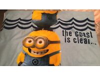 Despicable ME Bedding with Fitted Sheet