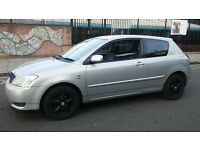 *ONLY £650* 03 TOYOTA COROLLA VVTI SPORTS. BLACK ALLOYS. LOUD EXHAUST. NOT FOCUS/ASTRA/GOLF/POLO