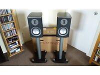 Monitor Audio Platinum Speakers & Matching Stands
