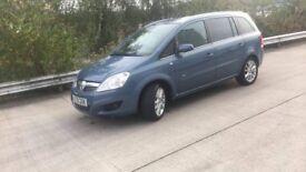 2008 Vauxhall Zafira design 1.9 150bhp 12 month mot