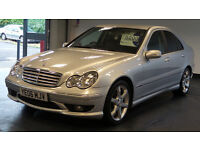2006 06 MERCEDES-BENZ C CLASS 2.1 C200 CDI SPORT EDITION DIESEL*2 YEARS WARRANTY*FINANCE AVAILABLE