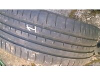 "Nissan Elgrand Set of 19"" Alloy Wheels with tyres"
