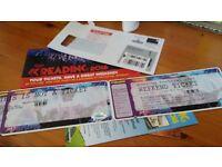 weekend reading ticket for sale bristol