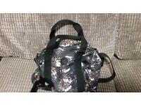 Original Kipling bag with Monkey, practical compartments, bargain at £25!