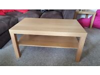 Ikea coffee table and two side tables