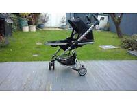Quinny Zapp Xtra 2 Stroller in Rocking Black, good condition, non smoking household..