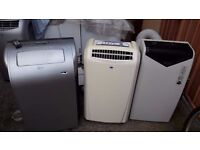 **PORTABLE AIR CONDITIONING UNITS**FROM £120**DELIVERY**BOSCH/EBAC/SHINCO/AIRFORCE ETC**NO OFFERS**
