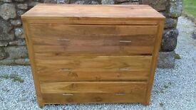 Indian Sheesham (Rosewood) 3 drawer chest