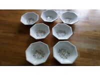 7 x Eternal Beau Bowls (Johnson Brothers)