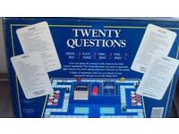 TWENTY QUESTIONS BOARD GAME BY MB GAMES