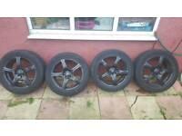 4 x 16 Alloy Wheels