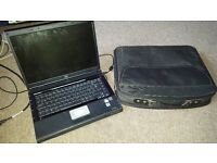 Full size laptop with laptop bag! Read discription!!
