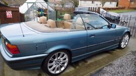 FOR SALE BMW E36 318i CONVERTIBLE