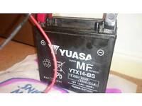 Yuasa YTX14-BS SuperMF Motorcycle Battery