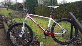 On one whipet carbon fibre mountain bike rocksox